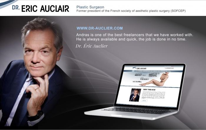 Plastic surgeon web design