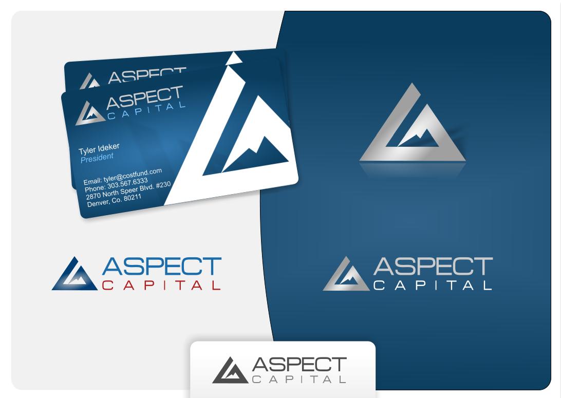 Aspect Capital graphic design