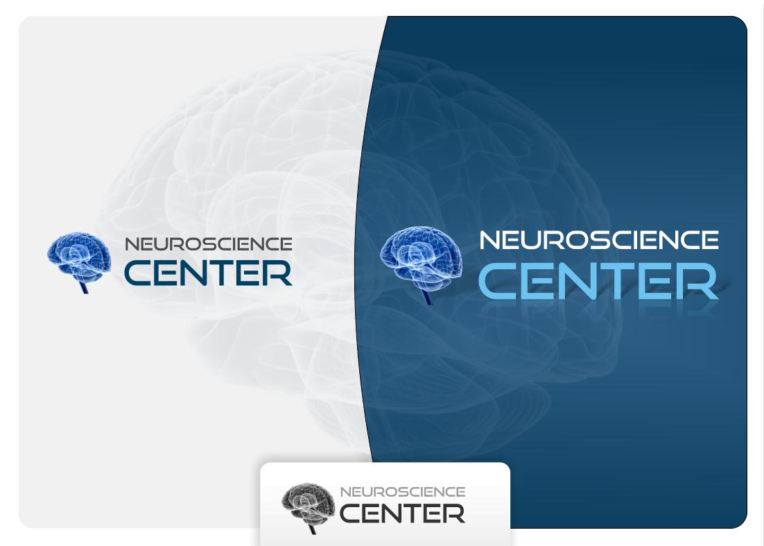 Neuroscience center graphic design