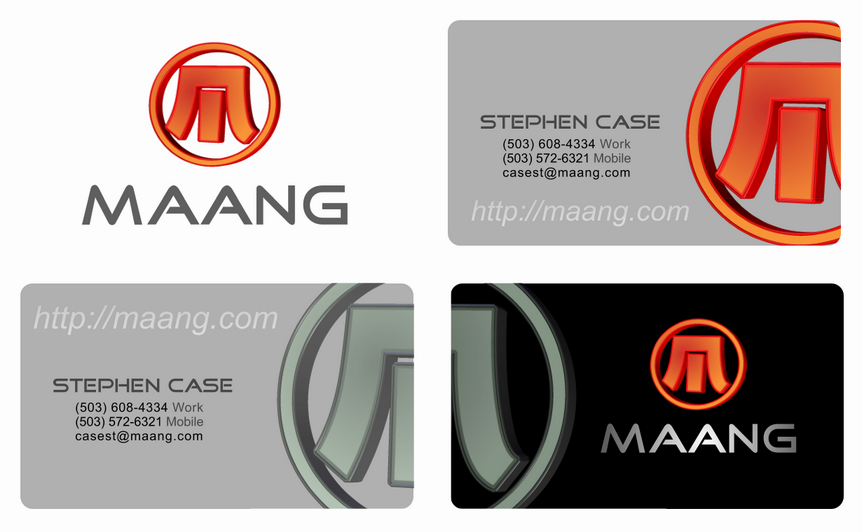 Maang graphic design