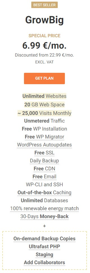 Avada hosting grow big
